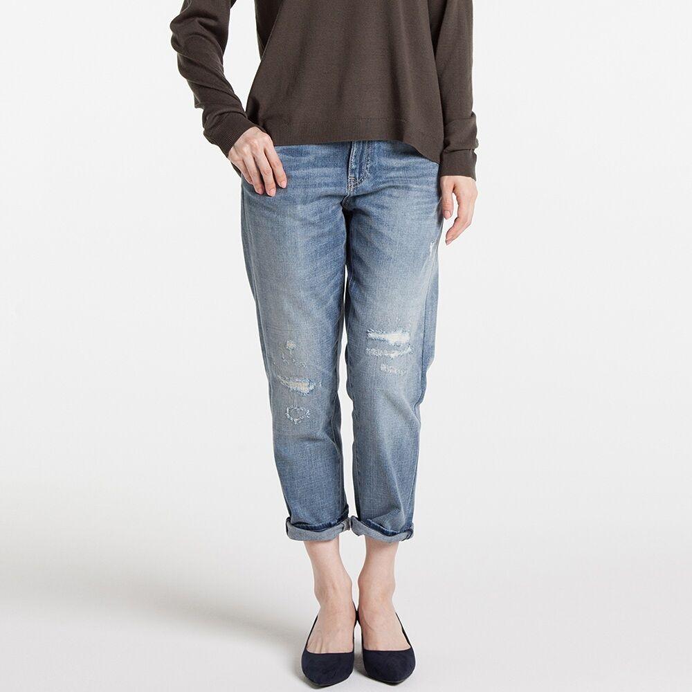 site réputé 4cb02 f278a Uniqlo Slim Boyfriend Fit Ankle Jeans | Travel Capsule ...