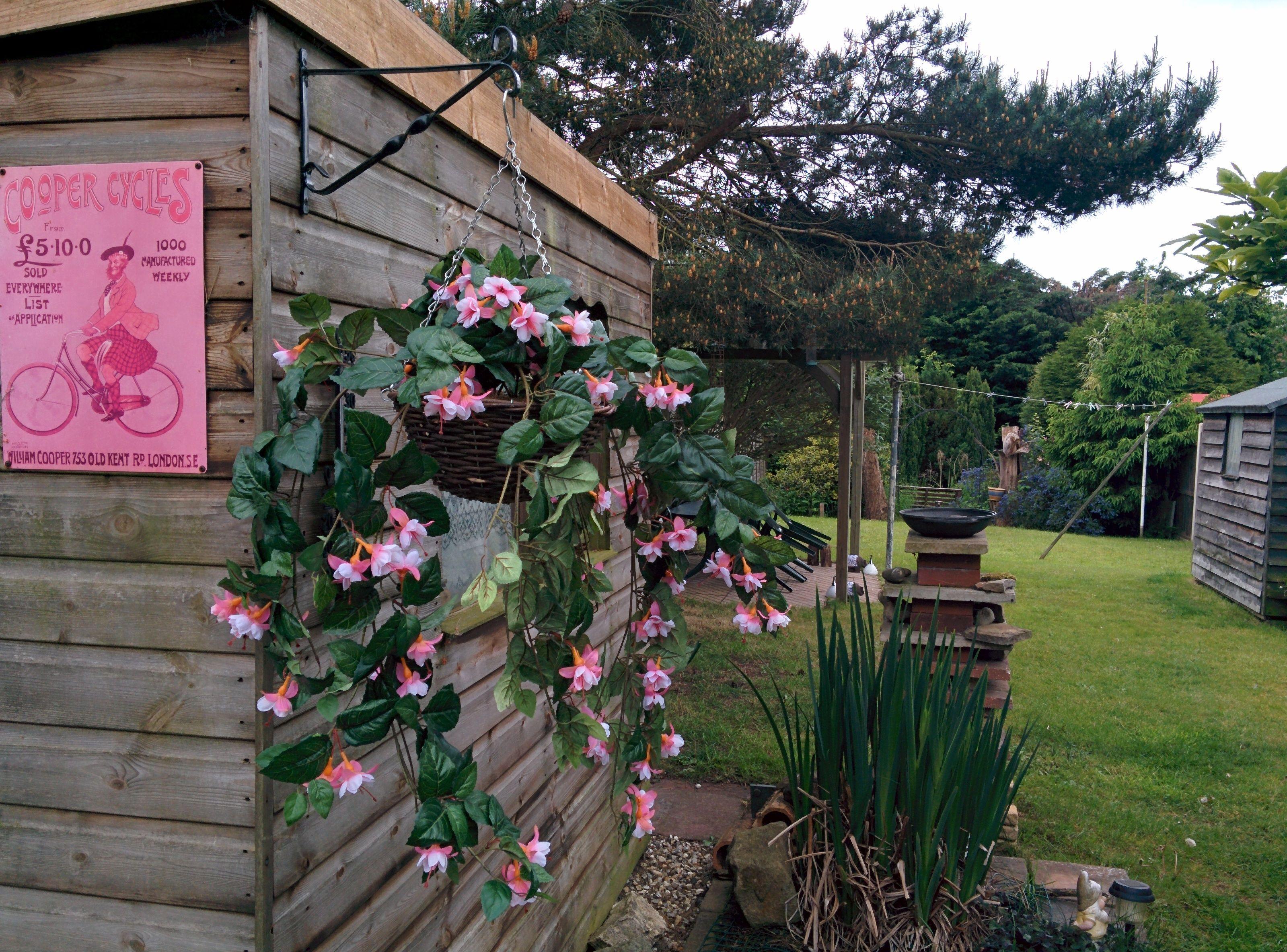 New Fancy Fuchsia Hanging Baskets Artificial Plants 101 Artificial Plants Outdoor Artificial Plant Wall Plants