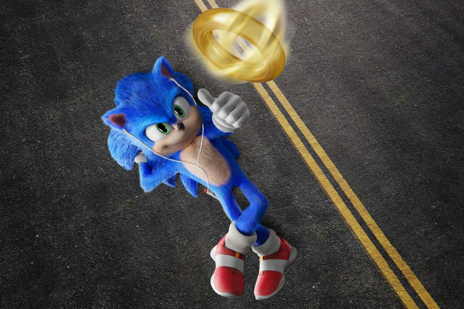 Sonic The Hedgehog By Hdgraphicvlad2010ful On Deviantart Sonic The Hedgehog Sonic Hedgehog Movie
