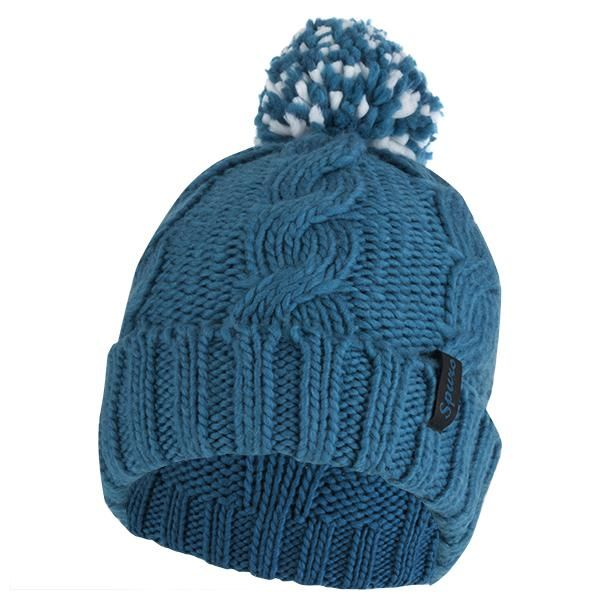 ed688fcd808 Spurs Girls Cable Bobble Hat