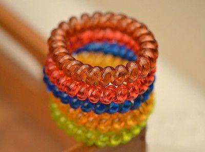New Hot Telephone Line Hair Ring Hair Accessories Hair Rope Hair Band