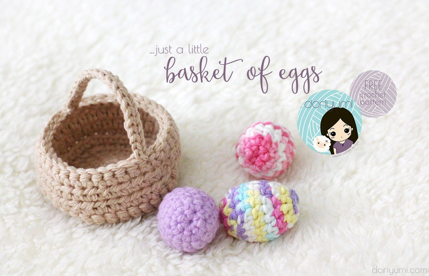 Basket of Eggs~ free crochet pattern ~ | Crochet Love | Pinterest