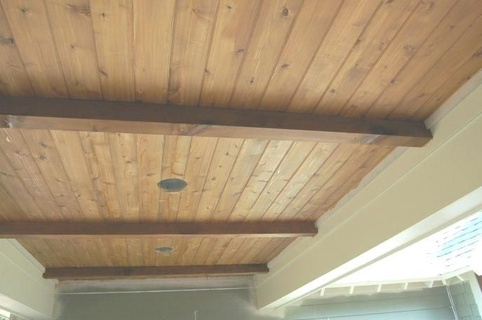 Vinyl Tongue And Groove Ceiling Timber Ceiling Beadboard Ceiling Recessed Ceiling Lights