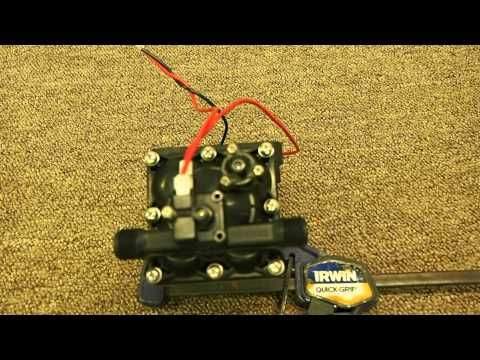 How To Adjust The Pressure Switch On A Shurflo Water Pump