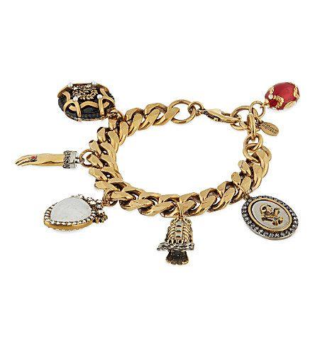 ALEXANDER MCQUEEN - Charms bracelet | Selfridges.com