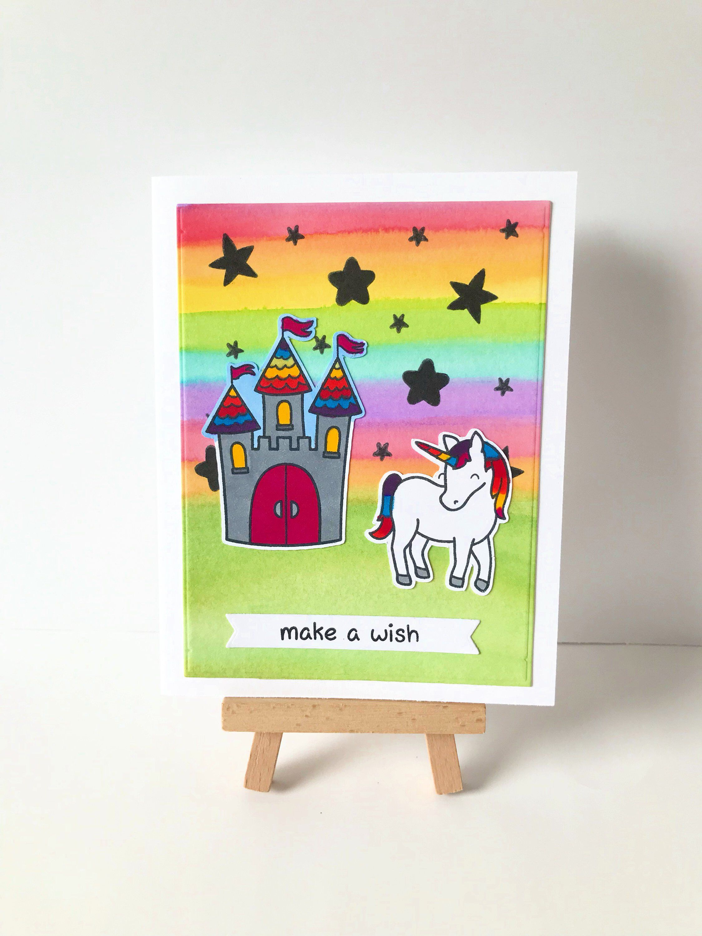 Unicorn Birthday Card, Unicorn Birthday Gift, Unicorn Card, Fairytale Birthday