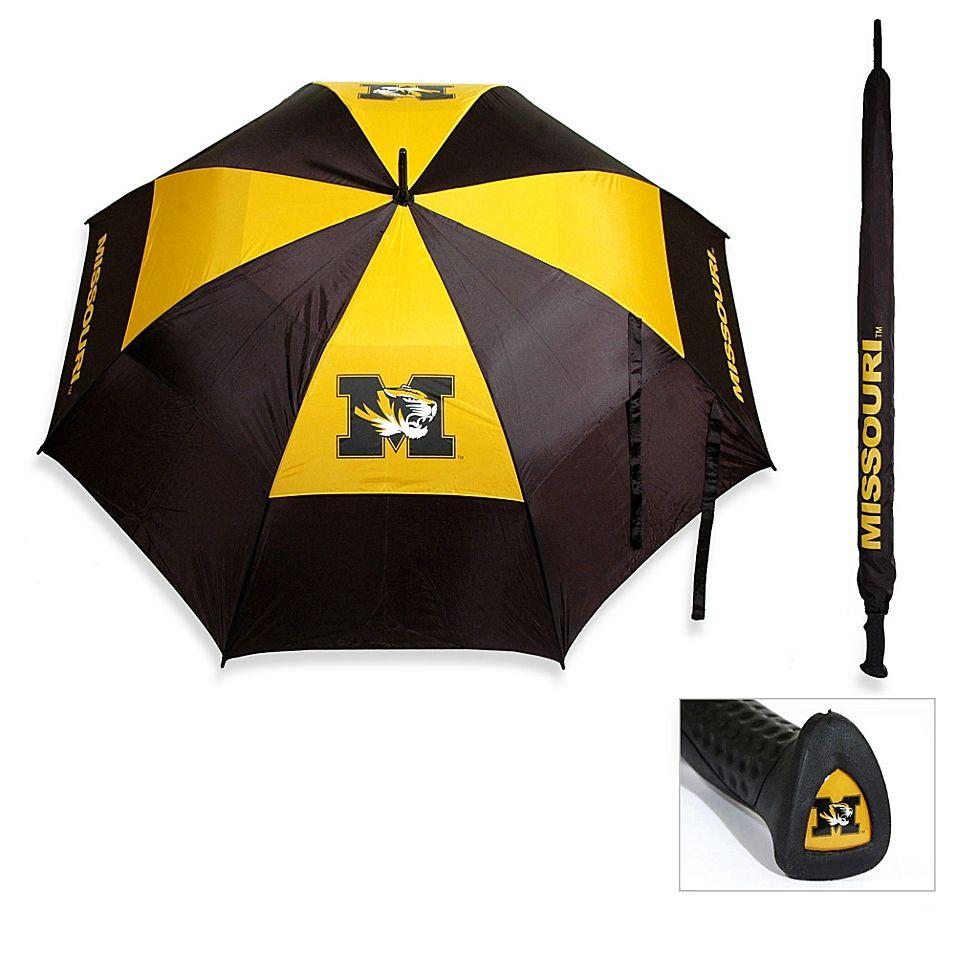 University Of Missouri Golf Umbrella Black/yellow #golfumbrella