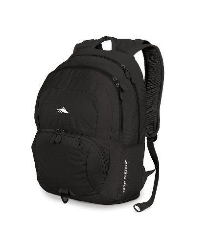 a9bc392b30c High Sierra Sheridan Backpack (19 x 13 x 8.25-Inch, Black) by High Sierra.  $32.10