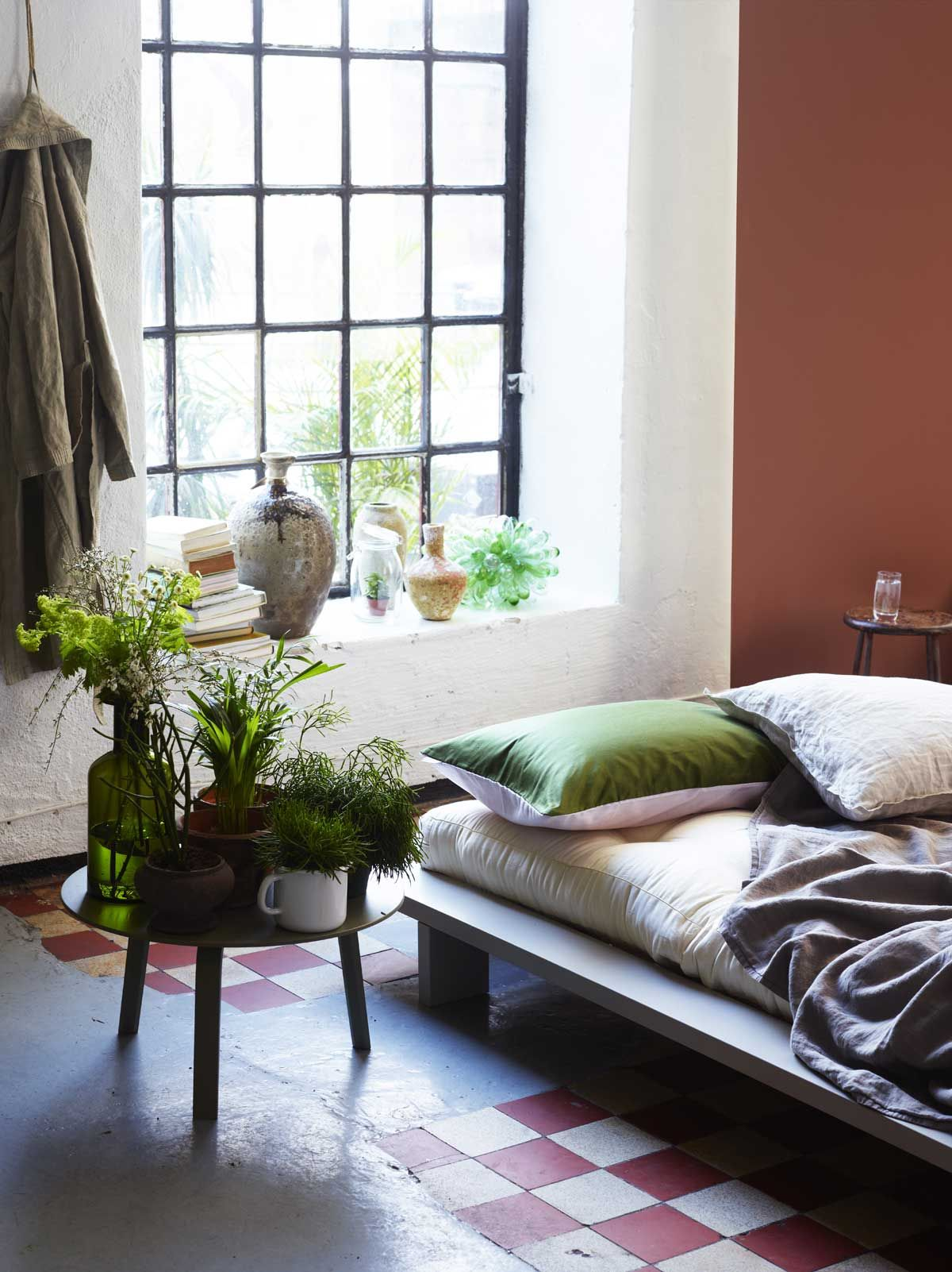 Terracotta Living Room Lady Pure Color 2771 Rustikk Terracotta Lady Spring Summer