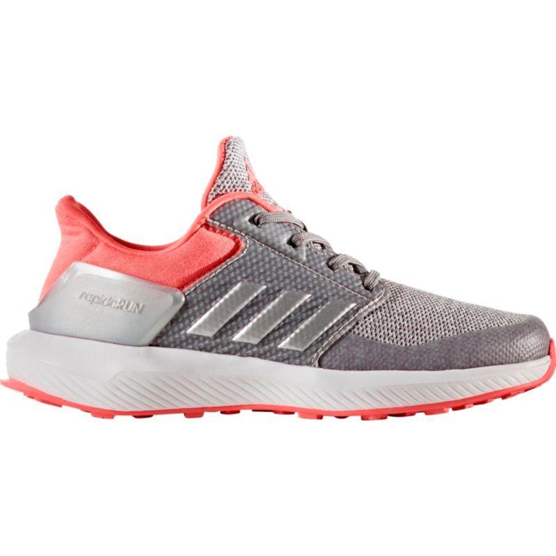 adidas Kids\u0027 Grade School Rapida Run Running Shoes, Girl\u0027s, Black