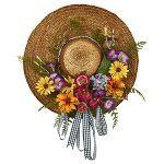 Photo of Ghirlanda di fiori misti – Quasi naturale