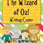 Students will love using these Wizard of Oz! Writing Mats in Literacy and Writing Centers. Colorful pictures, along with vocabulary words, are the ... $2