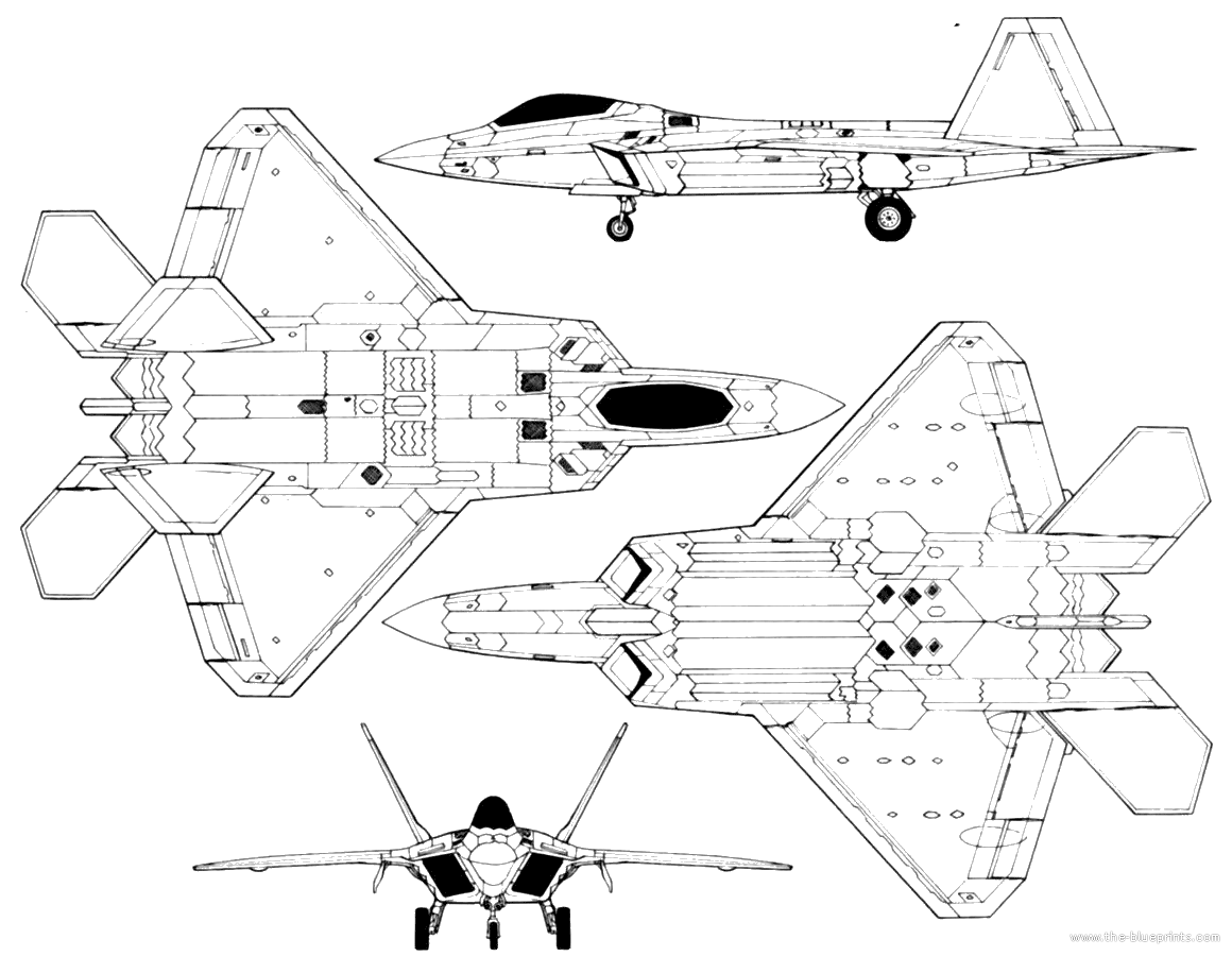 Lockheed martin f 22 raptor 2g 1160900 blueprint pinterest lockheed martin f 22 raptor 2g 1160 malvernweather Images