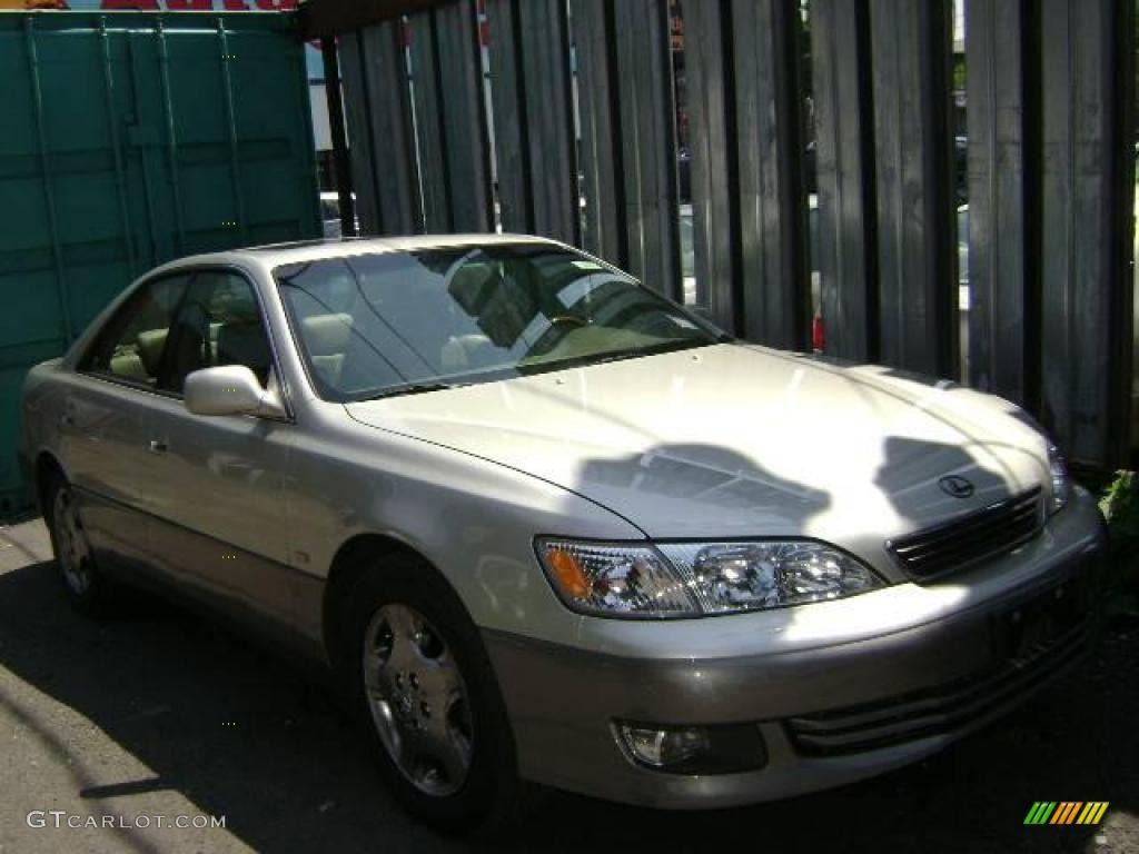 2001 Antique Sage Pearl Lexus ES 300 Lexus es