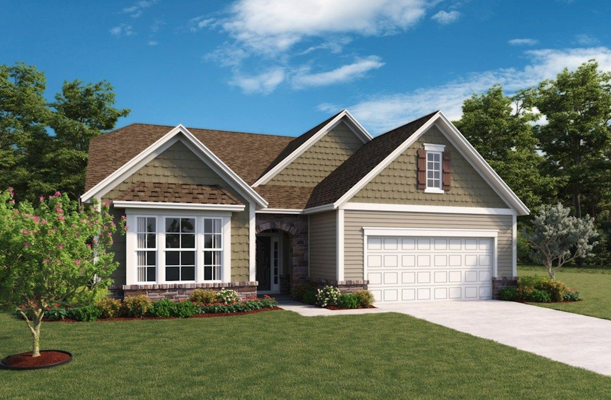 Greenwich Home Plan in Summerland Park Noblesville IN