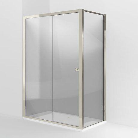 Arcade Single Slider Shower Door