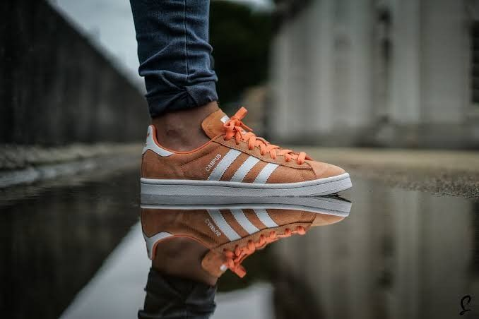 low priced 9beb6 0fa7b Adidas Campus Orange BZ0083 Adidas Campus, Adidas Samba, Adidas Gazelle,  Adidas Sneakers,