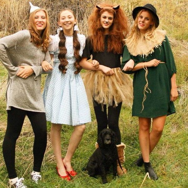20+ Best Friend Halloween Costumes for Girls Costumes and - halloween costume ideas for friends