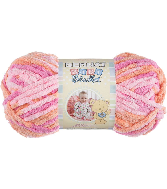 Bernat Baby Blanket Yarn Little Petunias | Yarn | Pinterest