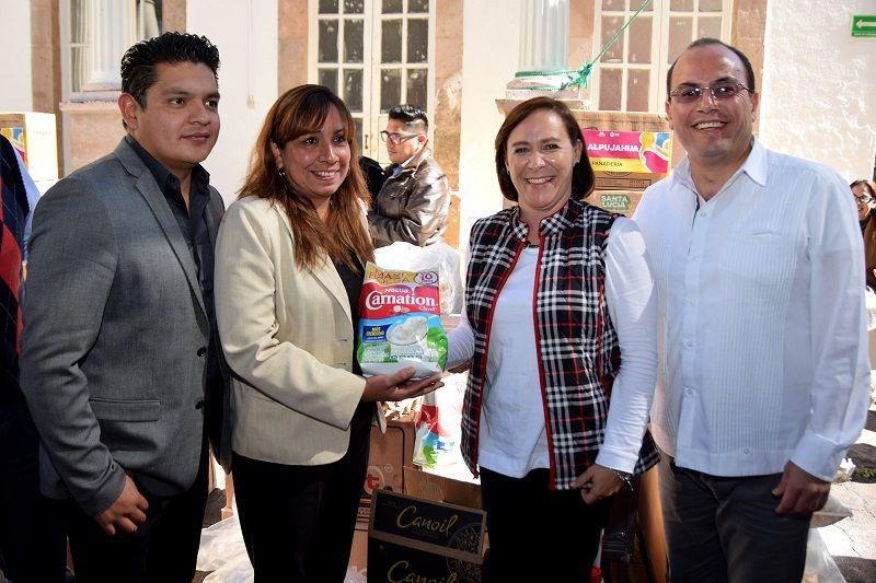 Se benefició a 9 municipios con una inversión de 418 mil pesos