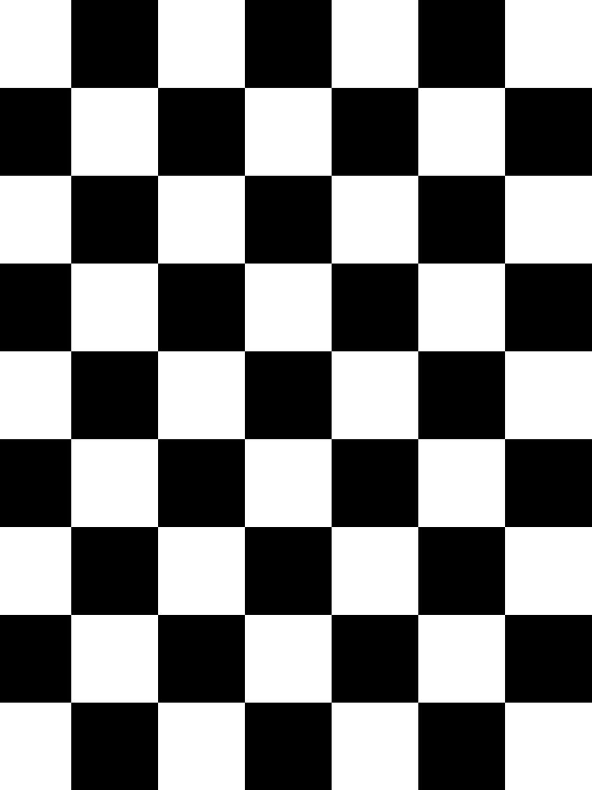 Checkers 820 Black And White Fabric Checker Wallpaper Black