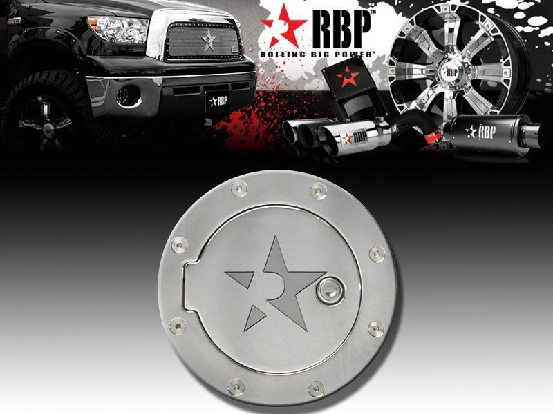 RBP Chrome Locking Gas Door for Jeep RBP-146CK