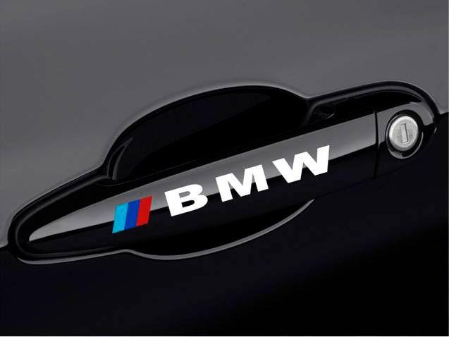 Bmw Door Handle M M3 M5 M6 E30 E36 E46 E60 3 Series Decal