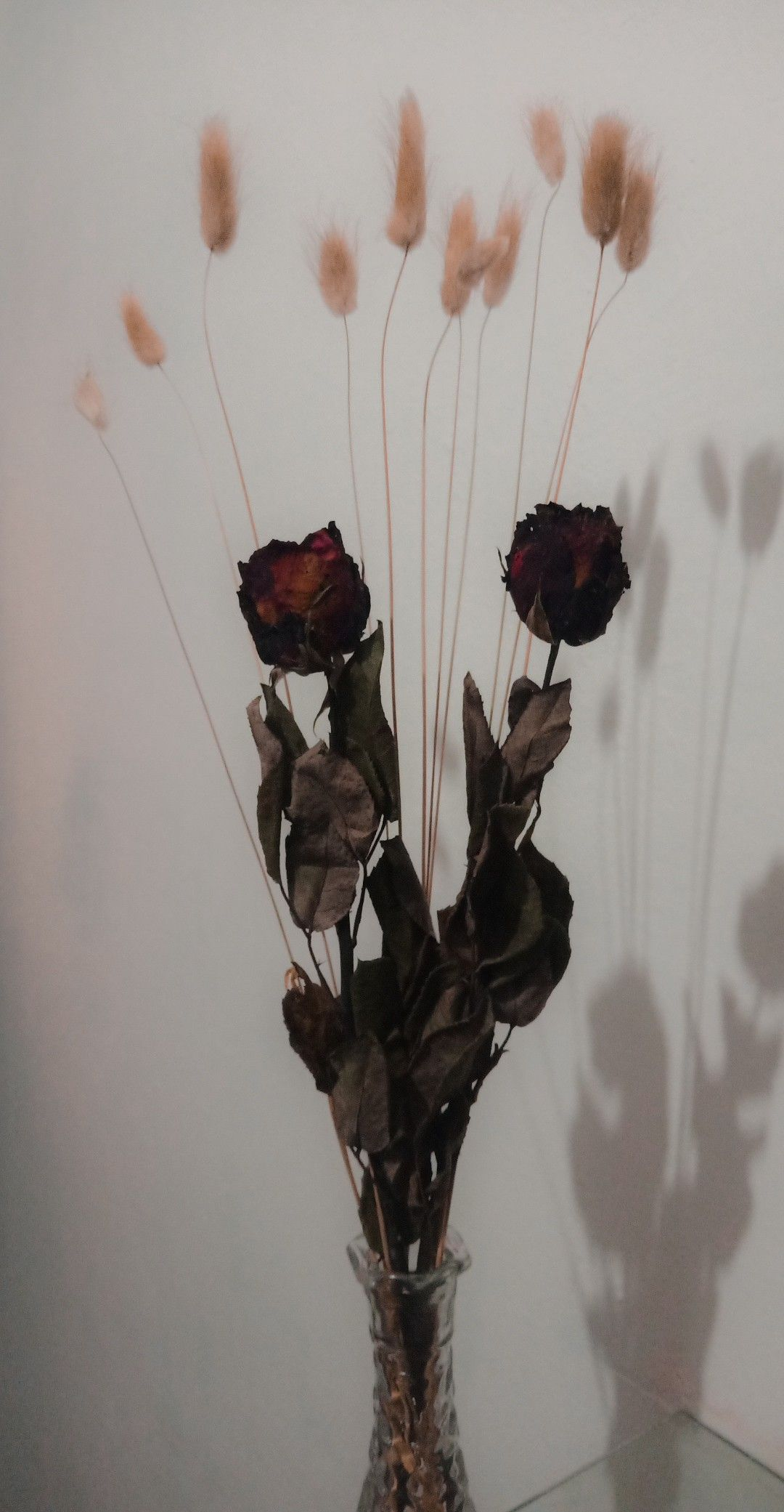 Bunga Hias Bunga Bunga Kering Kertas Dinding