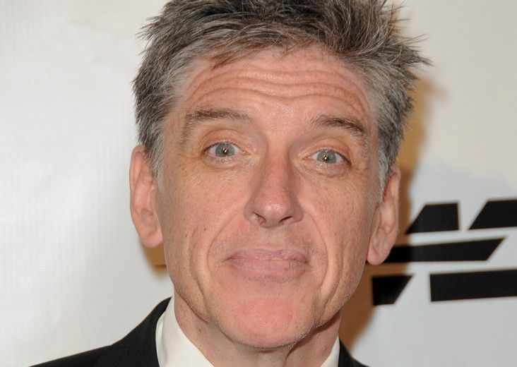 """Craig Ferguson - Comedian // """"I watched a documentary, [Forks Over Knives]. And I was like 'oh my goodness!' So I've gone meat free."""""""