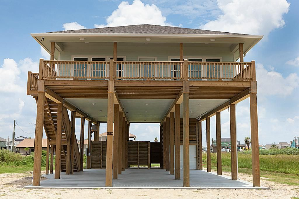 Delightful Stilt Home Builders #2: Taylor Made Homes Homosassa Mobile Home Stilt Homes, Manufactured ... |  PreFab Homes | Pinterest | Beach House Plans, Interior Photo And Prefab
