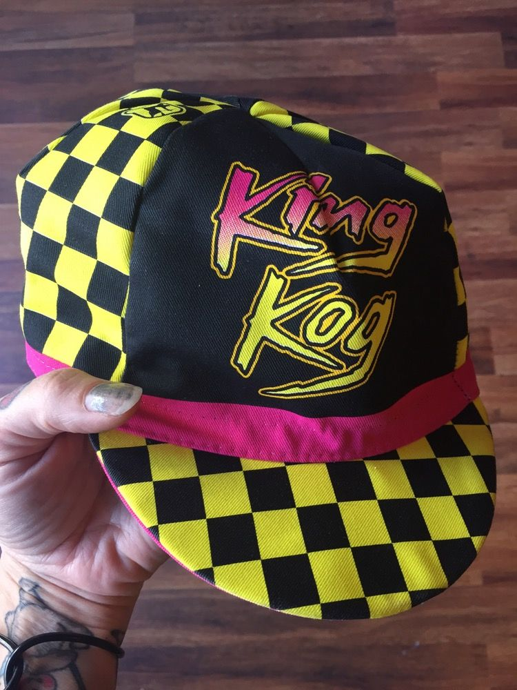 Image of RAD 80's style cycling cap