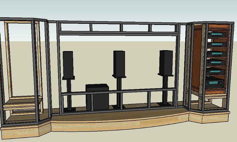 Charming Home Theater Stage Design Mesmerizing Interior Design Ideas Beautiful House  Plans #homedesign