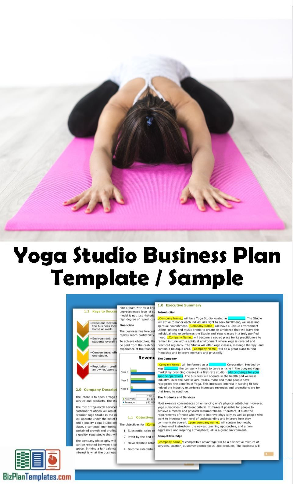 Business plan sample for a yoga studio fitness pinterest business plan sample for a yoga studio accmission Gallery