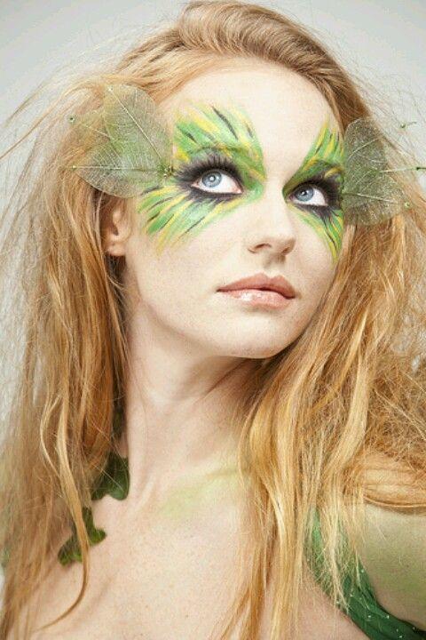 Green Fairy Makeup Fairy Makeup Fantasy Makeup Faerie Makeup