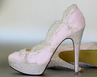 Pink Wedding Shoes 24