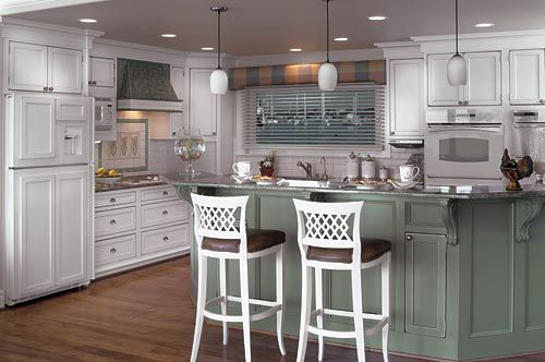 Kitchen Makeovers Open To Family Room Raised Ranch Portfolio Kitchens Baths Opened Up 1940s