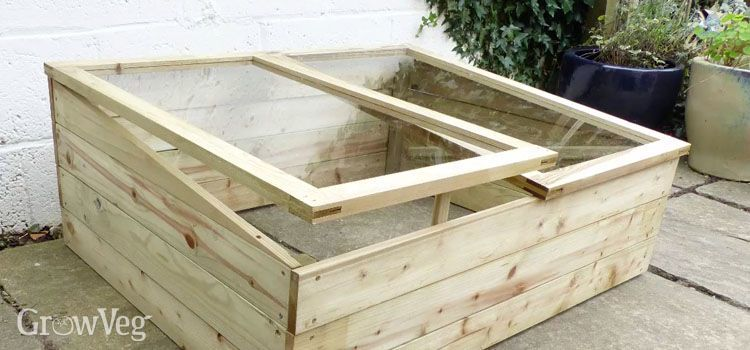 How to Make a Cold Frame Step by Step | Cold frame, Winter plants ...