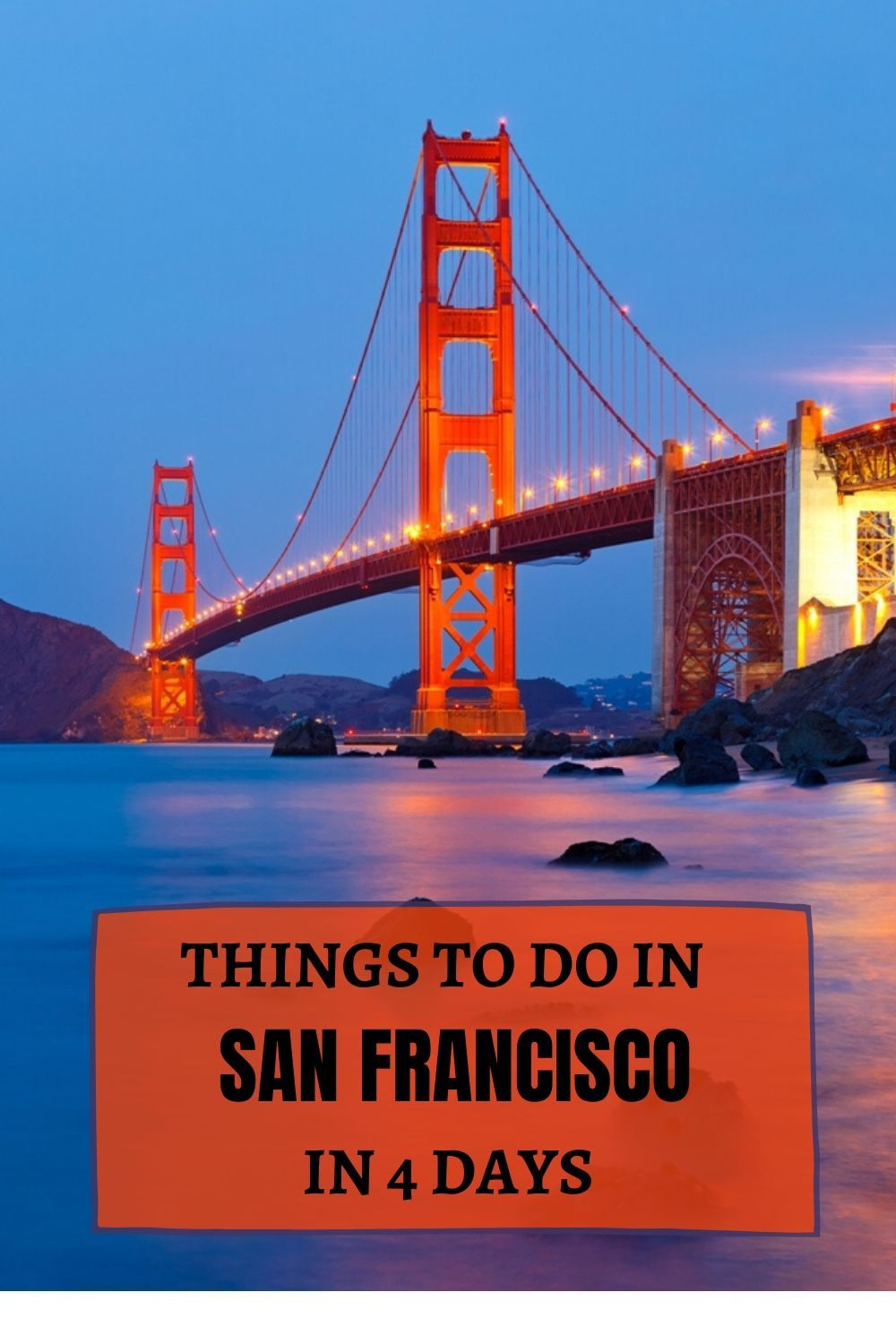 4 Days In San Francisco An Itinerary For First Time Visitors Travel Passionate In 2020 California Travel California Bucket List Travel Usa