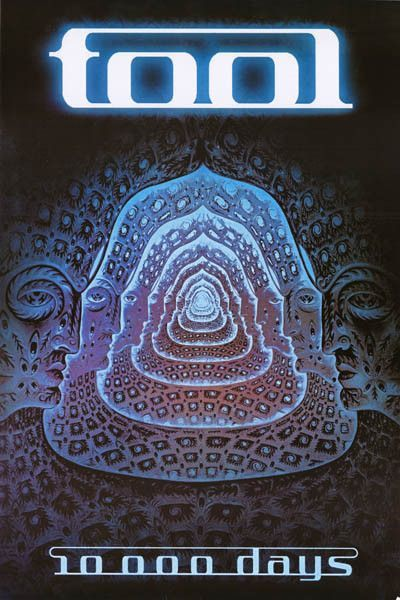 Tool 10000 Days Poster 24x36 Music Poster Tool Band Artwork Tool Poster