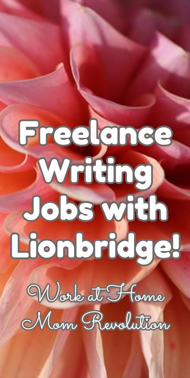 008 Lionbridge Freelance Content Author Jobs Writing jobs