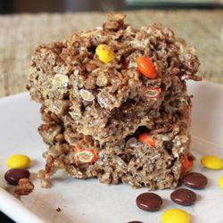 Halloween Rice Krispie Treats #halloweenricekrispietreatsideas