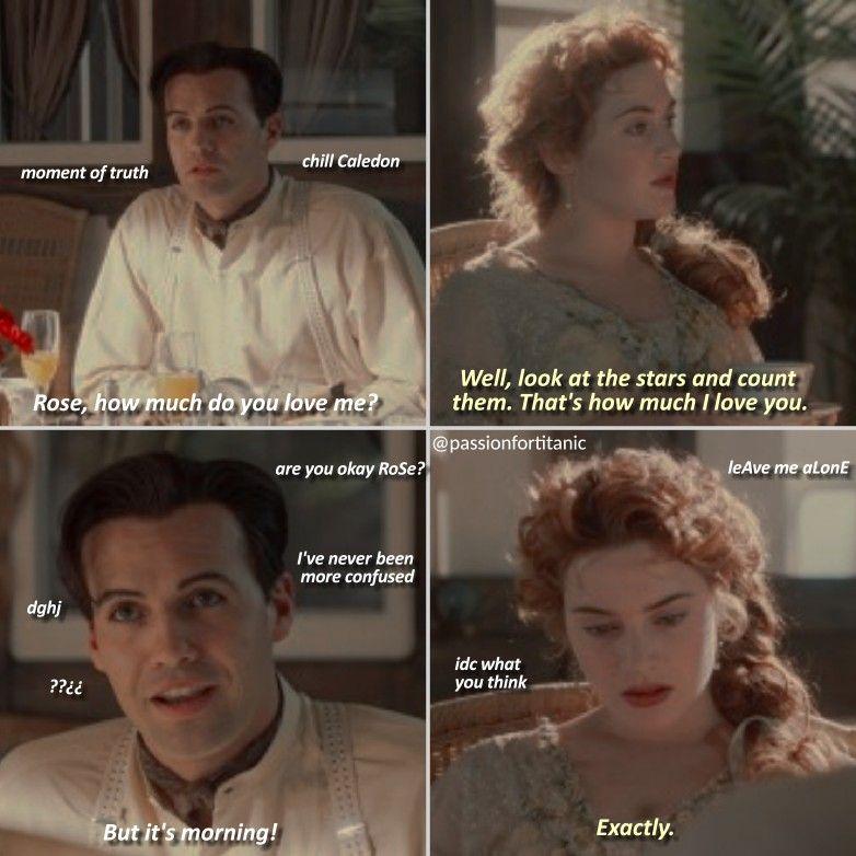 Fake Scene Titanic Funny Titanic Movie Titanic Quotes