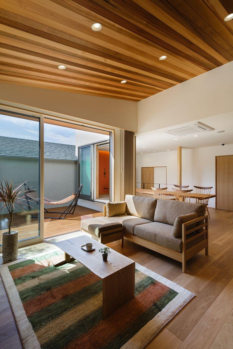 ヘルシーホーム岡山 インテリア 家具 自宅で リビング 段差