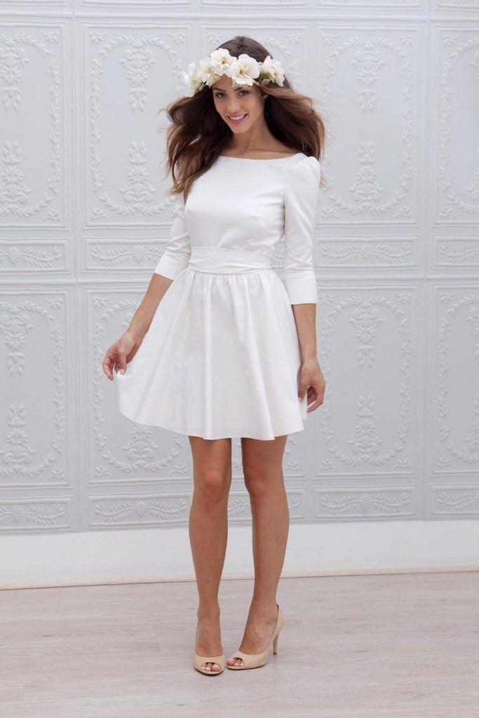 Modische weiße Kleider: 20 lässige und festliche Looks