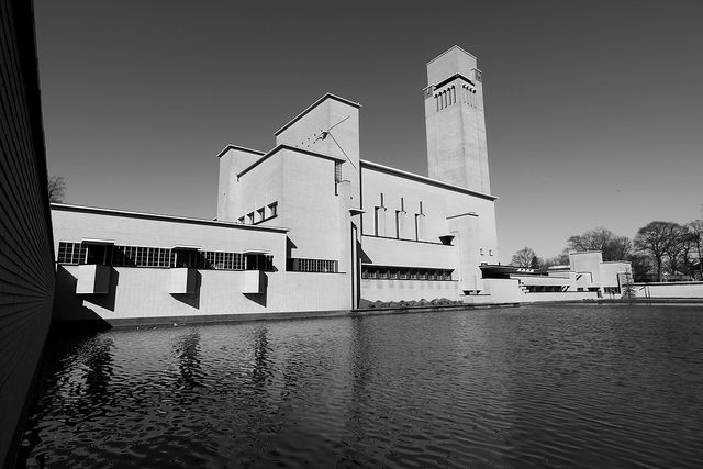 town hall, Hilversum, the Netherlands by W.M. Dudok (1931)