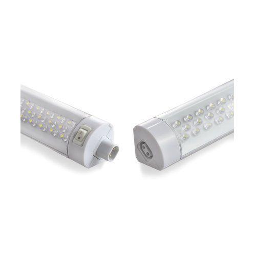 Eclairage Sous Meubles A Led De Parlat Luminaire Avec 121 Leds Blanches Plat Reglette Avec Interrupteur Pour L Interieur 2 Luminaire Led Mobilier De Salon
