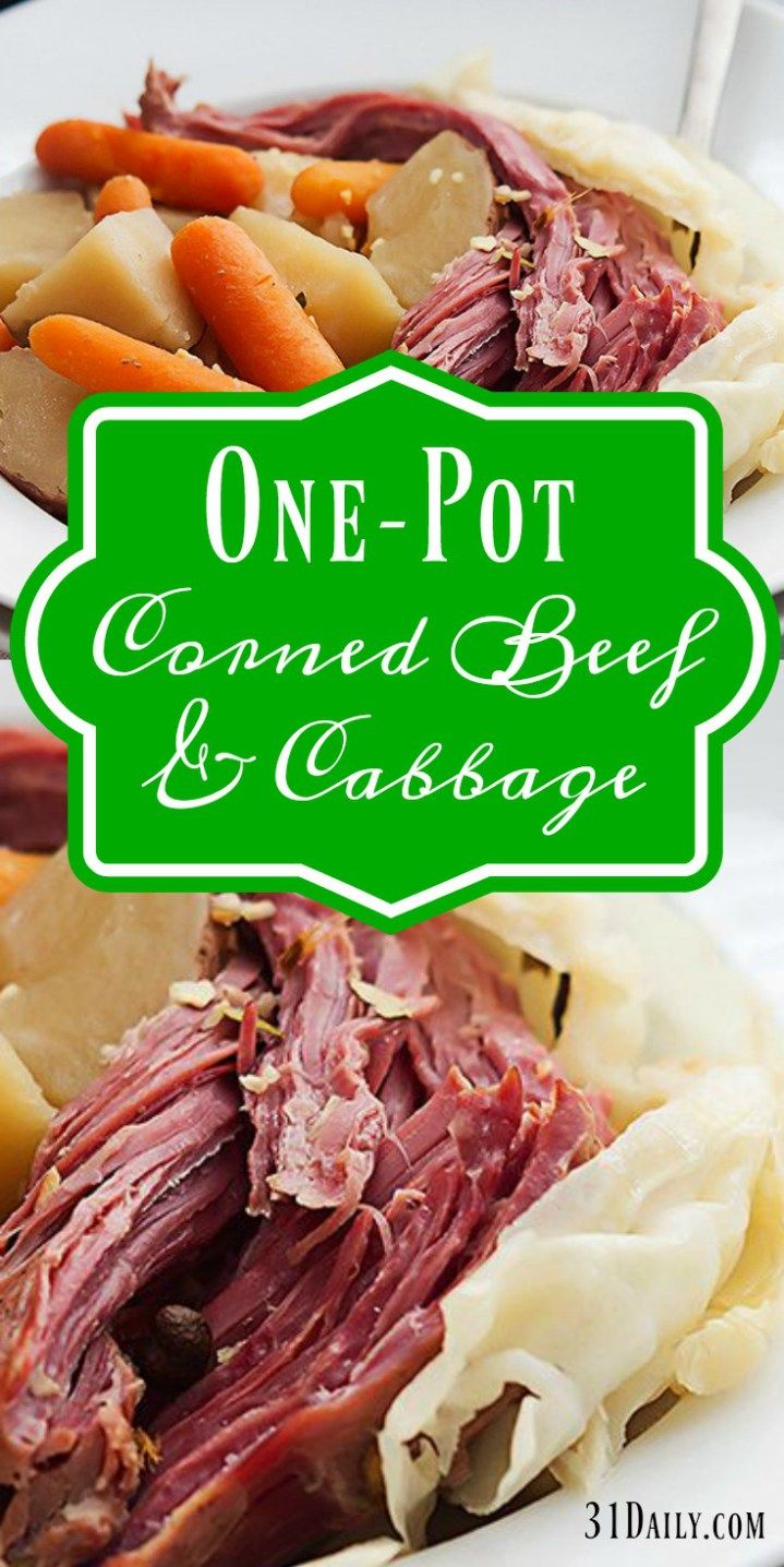 One Pot Corned Beef and Cabbage | Recipe (With images ...