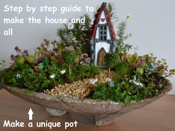 Fairy and miniature table top gardens pdf by for Indoor gardening pdf