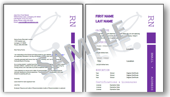 Registered Nurse Cover Letter Sample and Writing Guidelines