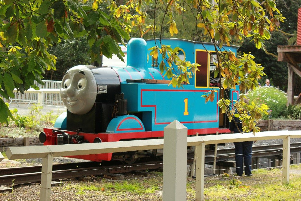 A Day Out With Thomas at Puffing Billy